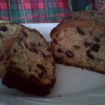 Last Minute Honey Ginger Fruitcake