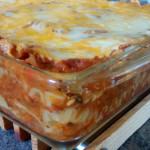 Tofu-free Vegetarian Lasagna