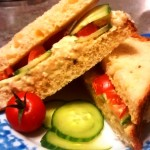 Meatless Monday: Chickpea Sandwich Spread with Avocado Chili Lime Mayo