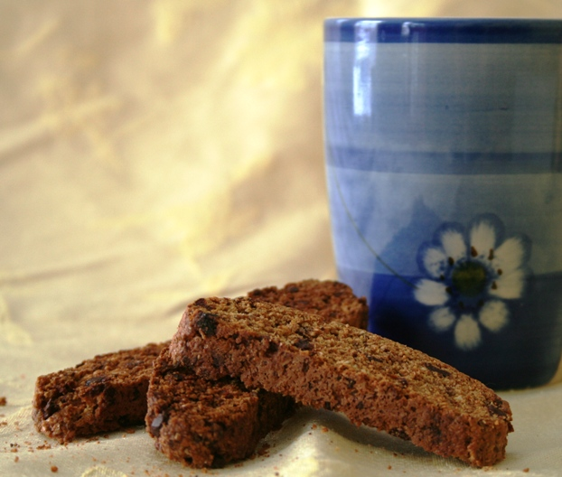 Whole Grain Breakfast Biscotti