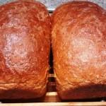 Down Home Oatmeal Molasses Bread
