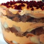 Pumpkin Gingerbread Trifle (with Pumpkin Maple Caramel and Cardamom Buttered Apples)