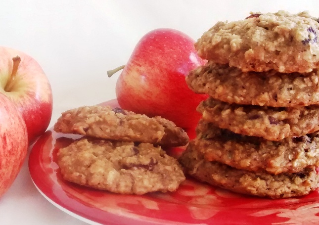 Meatless Monday: Vegan Apple Drop Cookies
