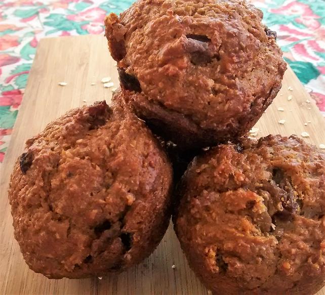 Oatmeal Refrigerator Muffins