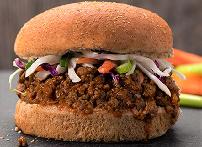 Hoisin Sloppy Joes (vegan)