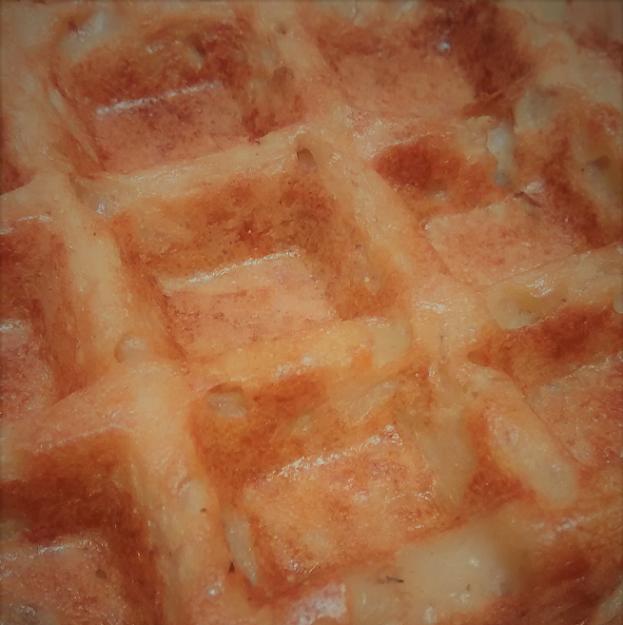 Potato Parsnip Waffles