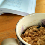 Blueberry Oatmeal Mug Muffin